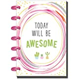 Create365 The Happy Planner Mini Shake It Up, Today Will Be Awesome, 12 Month January-December 2018, Dated