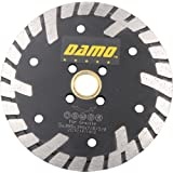 "5"" Premium Dry or Wet Cutting Turbo Rim Diamond Saw Blade with 7/8"" or 5/8"" Arbor for Masonry"