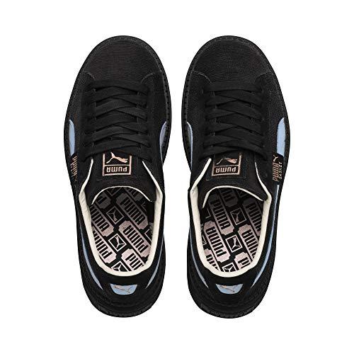 Puma Platform Sneakers Celeste 366977 Nero 38 Nero 02 Wn's Corduroy Trace qTpwrfxq