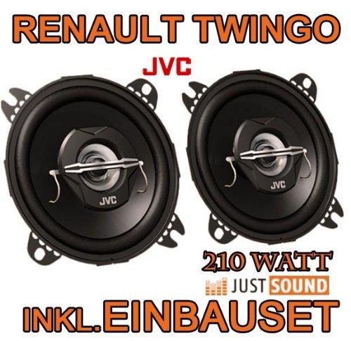 Lautsprecher JVC CS-J420-10cm Koaxe Renault Twingo 1 Facelift