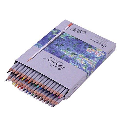 [E-STAR] pencils 36 color set children / adults Coloring for illustration sketch by Estar