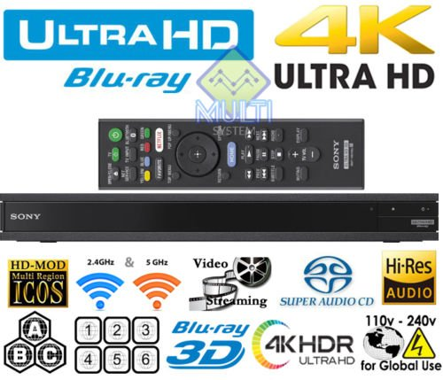 SONY X800 - UHD - 2D/3D - SACD - Wi-Fi - Dual HDMI for sale  Delivered anywhere in USA