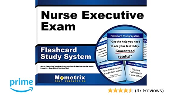 nurse executive exam flashcard study system: nurse executive test ...