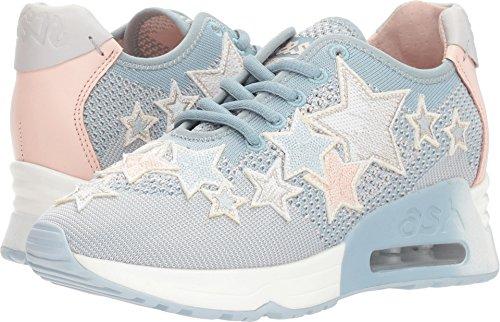 Ash Women's AS-Lucky Star Sneaker, Ice Blue/Power, 39 M EU (9 (Ladies Lucky Stars)