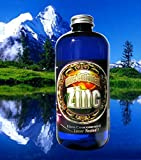 Colloidal Zinc Concentrate 16 Oz. 240 PPM by Silver Mountain Minerals