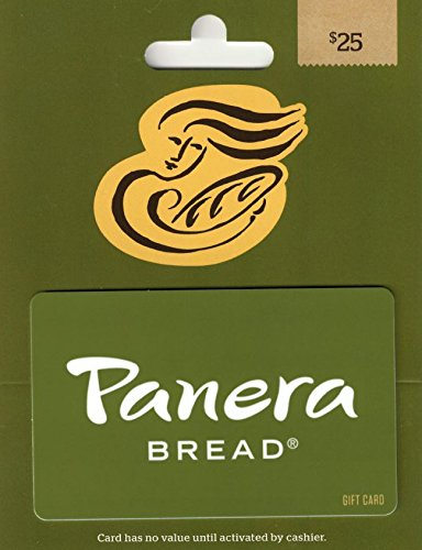 Panera Bread Gift Card $25 - Cards In Gift Canada