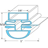 Turbo Air M272300100 Magnetic Door Gaskets for Freezers/Coolers/Refrigerators 25-1/2'' x 26-1/2''