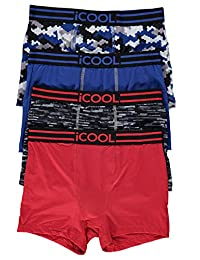 iCOOL™ Performance Boys Underwear - Boxer Briefs 4-Pack Size L (14)
