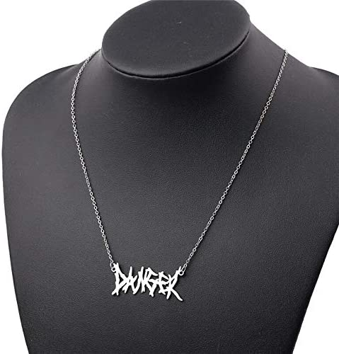 YFAXbm Fashion Necklaces 2019 Harajuku Streetwear Flame Unisex Necklace Punk Accessory Rock Chain Choker Necklaces Nightclub Jewelry necklace