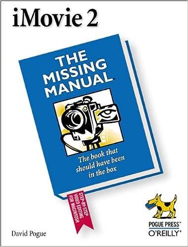 Téléchargez des livres pdf en ligne gratuitement Imovie 2 (en anglais) 0596001045 PDF PDB