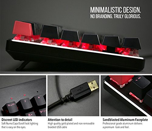 Glorious Modular Mechanical Gaming Keyboard - Full Size (104 Key) - RGB LED Backlit, Brown Switches, Hot Swap Switches (Black)(GMMK-BRN) by Glorious PC Gaming Race (Image #8)