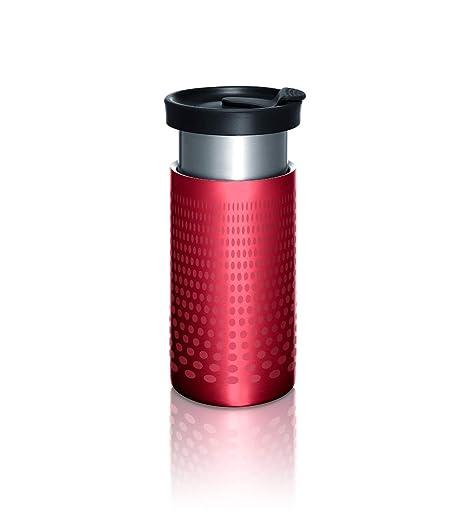 Amazon.com: Bobble Cafetera Presse para el camino, Rojo ...