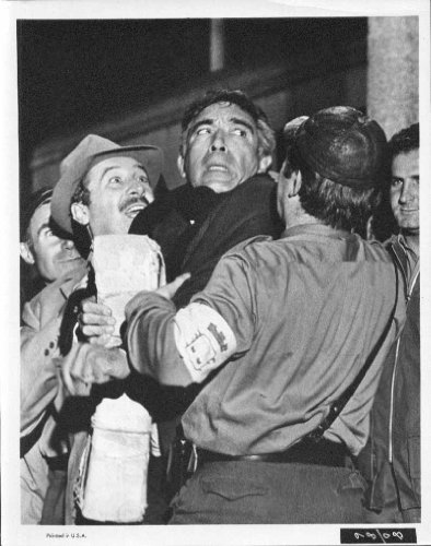 Anthony Quinn The Visit 1964 8x10 Photo