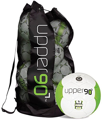 Gill 54105 Upper 90 Soccer Balls Bag, Size 5, set of 10 by Gill