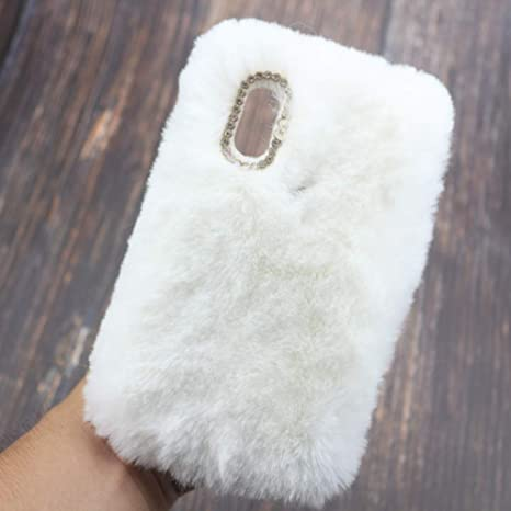 coque fluffy iphone xr