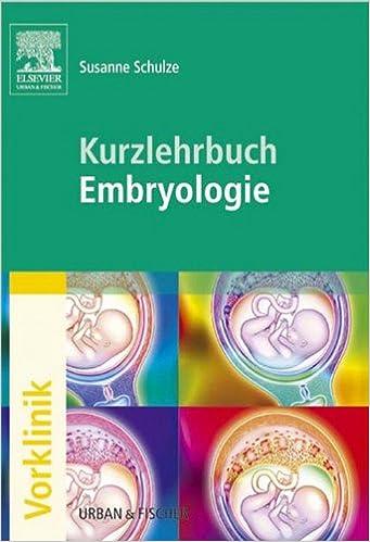 kurzlehrbuch embryologie