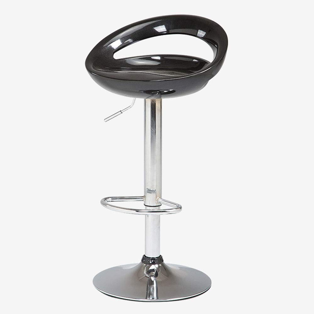 AO-stools Bar Chair Can Be Raised and Lowered Rotating High Stools Leisure Bar Chairs Etc 100x35cm (Color : Black) by AO (Image #1)