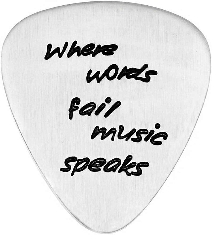Púa de Guitarra inspiradora de la señora Clover, Donde Las ...