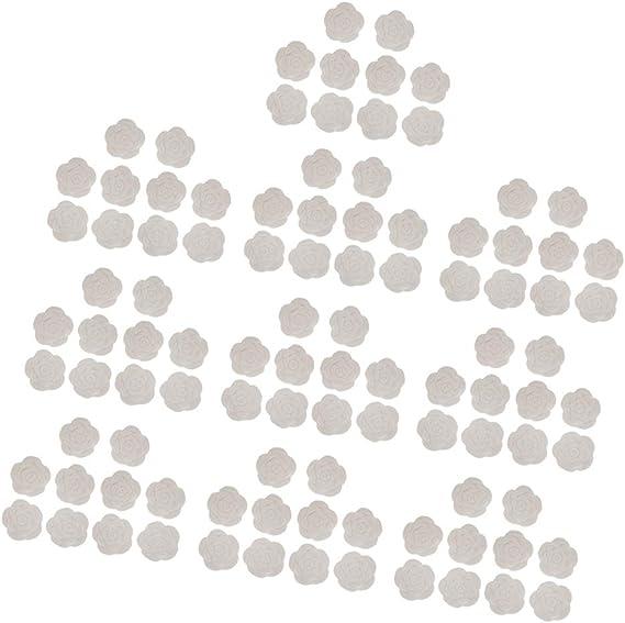 100ピース/個ホワイトエッセンシャルオイルディフューザーホームストーンバスルームデコレーションギフト