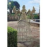 Design Toscano Tempest The Metal Garden Trellis