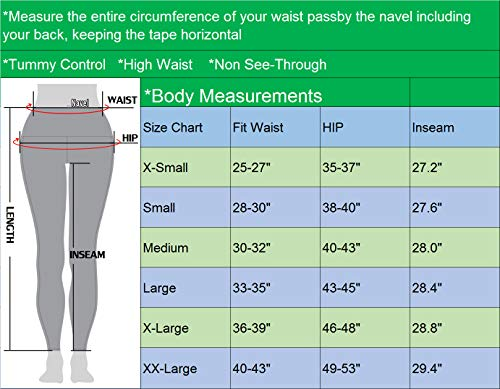 Neleus Tummy Control High Waist Workout Running Leggings for Women,9033,Yoga Pant 3 Pack,Black,Grey,Navy Blue,XL,EU 2XL