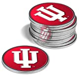 NCAA Indiana Hoosiers - 12 Pack Ball Markers