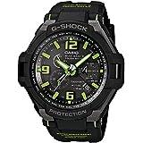 Casio GW-4000-1A3ER - Reloj analógico de cuarzo para hombre, correa de resina color negro (alarma, cronómetro, cuenta atrás)