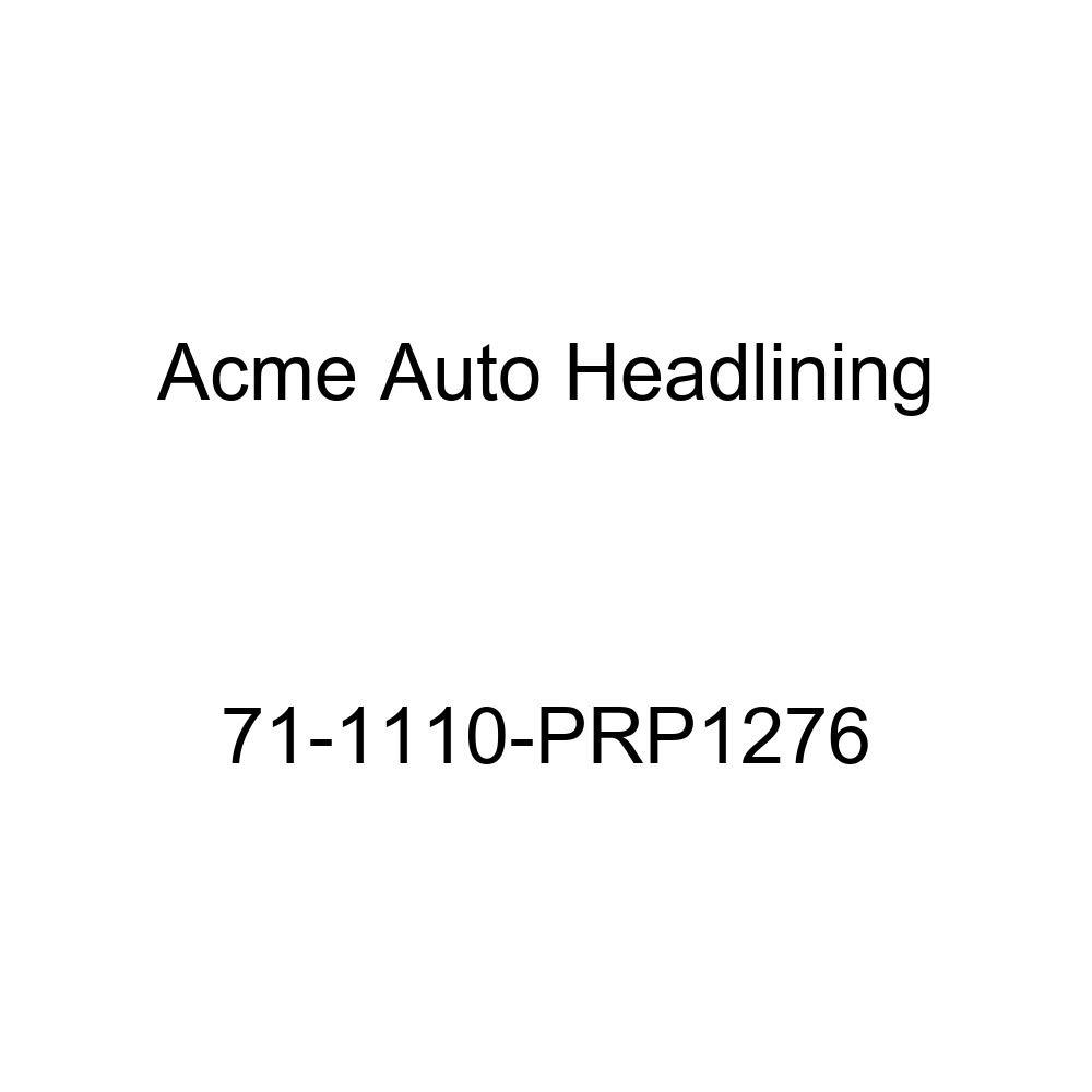 Acme Auto Headlining 71-1110-PRP1276 Dark Green Replacement Headliner 5 Bow 1971 Buick Lesabre 2 Door Hardtop