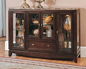 Amazon.com: Thomasville Display Curio Cabinet with Marble