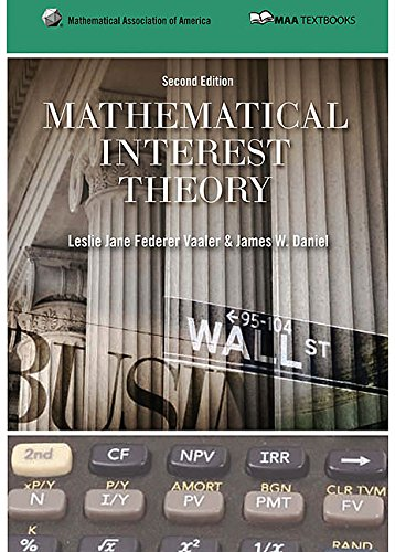 Mathematical Interest Theory (Mathematical Association of America Textbooks) by Brand: Mathematical Association of America
