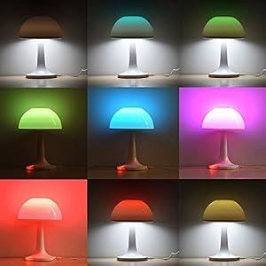 Chevet D'ambiance Liqoo® Tooth Led Lampes Haut Lampe De Liqoo Y6fgyvb7