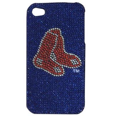 MLB Boston Red Sox Glitz 4G iPhone Faceplate