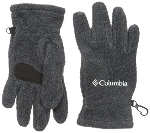 Charcoal Trek (Columbia Kid's Youth Fast Trek Glove Accessory, Charcoal Heather, Large)