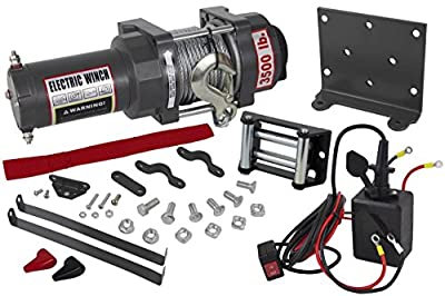NEW 3500lb ATV WINCH ASSEMBLY 04-07 HONDA RANCHER 350/400 166:1 GEAR RATIO