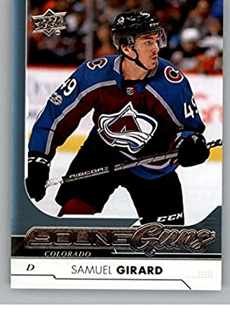 2017-18 Upper Deck  465 Samuel Girard Young Guns RC Colorado Avalanche 4a24939f9