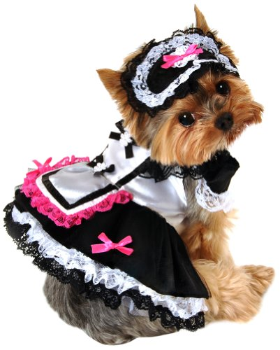 French Fancies Costume (Anit Accessories 20-Inch French Maid Dog Costume, Large)