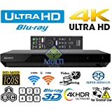 Newest Model 2018 Sony X700 4K UHD - HDR - SACD - Wi-Fi - All Region Free DVD and Zone ABC Blu Ray Player 100-240V Auto