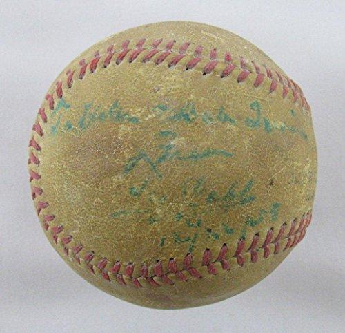 Ty Cobb Signed Auto Autograph Official Babe Ruth League Baseball Q09372 - PSA/DNA Certified - Autographed Baseballs - Ty Cobb Autograph