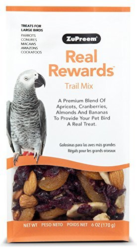Real Rewards Trail Mix Large Bird Treats by ZuPreem