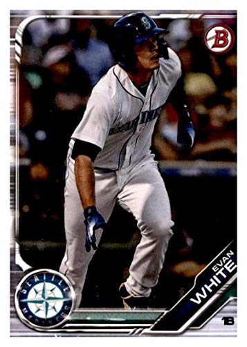 2019 Bowman Prospects Baseball #BP-31 Evan White Seattle Mariners Official MLB Trading Card From Topps