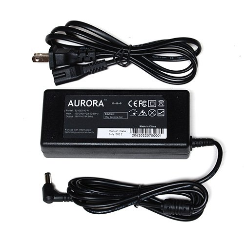 AURORA™ 19V 4.74A 90W Laptop AC Adapter for Toshiba Satellite A135 A135-S2356 A135-S2376 A135-S2386 A135-S2396 A135-S2426 A135-s4 A135-S4407 A135-S4417 A135-S4427 A135-S4437 A135-S4447 A135-S4457 A135-S4467 A135-S4477 A135-S4478 A135-S4487 A135-S4488 A135-S4498 A135-S4499 A135-S4517 A135-S4527 A135-S4637 A135-S4656 A135-S4666 A135-S4677 A135-S4727 A135-S4827 A135-S74 A135-S7403 A135-S7404 A135-S7406 A15 A15-S157 10Ft Power Cord / Notebook Battery Charger