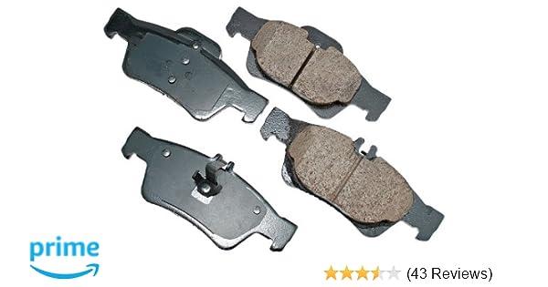 Fits: 2000 00 2001 01 2002 02 Mercedes Benz E320 Sedan Max Brakes Rear Elite Brake Kit KT082102 E-Coated OE Rotors + Ceramic Pads