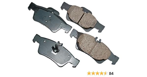 Akebono EUR394 Disc Brake Pad Set-Euro Ultra Premium Ceramic Pads Front USA Made
