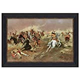 Design Toscano ''For Supremacy, 1895'' Canvas Replica Painting, Large