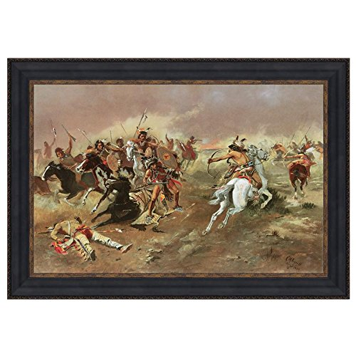 Design Toscano ''For Supremacy, 1895'' Canvas Replica Painting, Large by Design Toscano