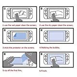 DYTesa Tempered Glass Screen Protector for Nintendo Switch 2017 (2-Pack),Tempered Glass, Eye Protection Radiation Protection