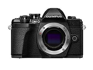 Olympus OM-D E-M10 Mark III camera body (black), Wi-Fi enabled, 4K video