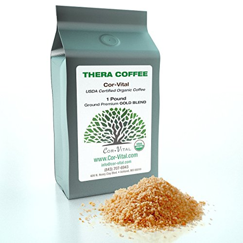 The Real Deal Enema Coffee Best Coffee for Enema – 1lb Bag – 100 Organic Green Beans Finely Ground – *Free* Detox Recipe – Gerson Approve