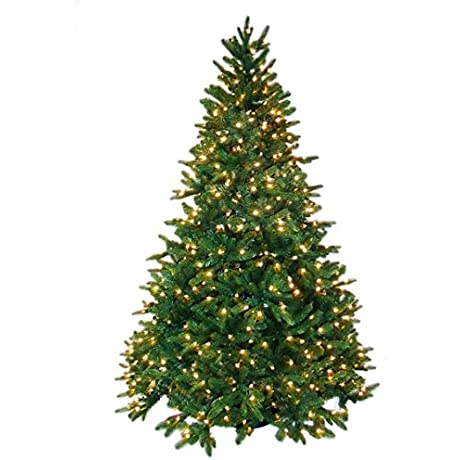 Pre Lit Rockford Pine Tree 4 5 Feet 300 Clear Lights