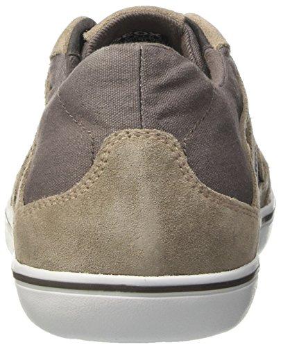 Geox U Box B, Zapatillas para Hombre Gris (ANTHRACITE/ROCKC9A5Y)